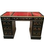 Image of Mid-Century Handpainted Desk or Vanity
