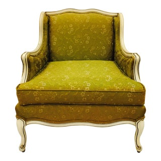 Vintage Hollywood Regency French Style Arm Chair