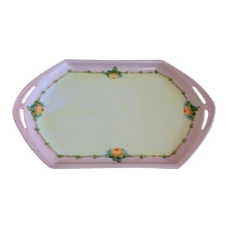 Small Porcelain Tray Hand Painted by M Z Austria