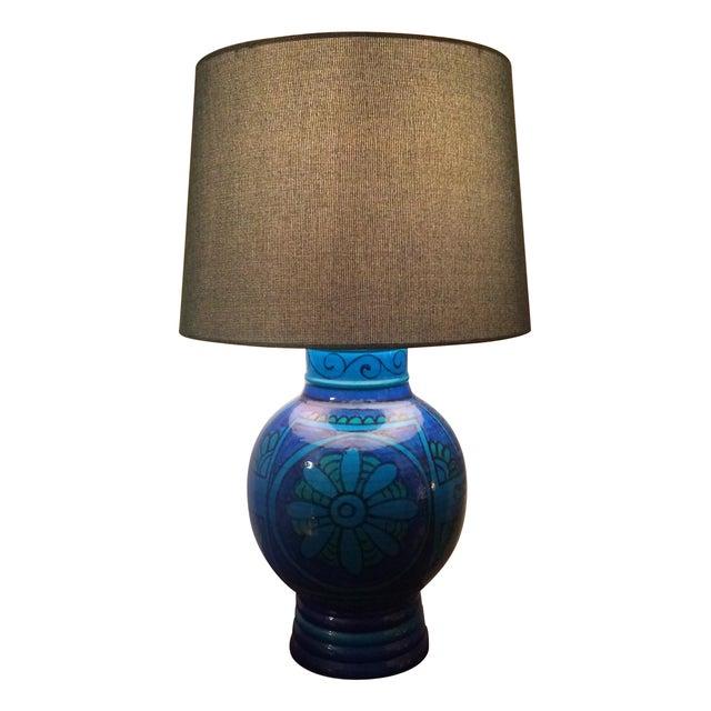 Mid-Century Bitossi Lamp - Image 1 of 4