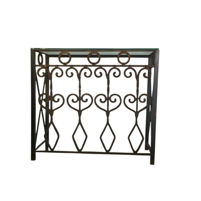Image of Hand Forged Vintage Iron Table