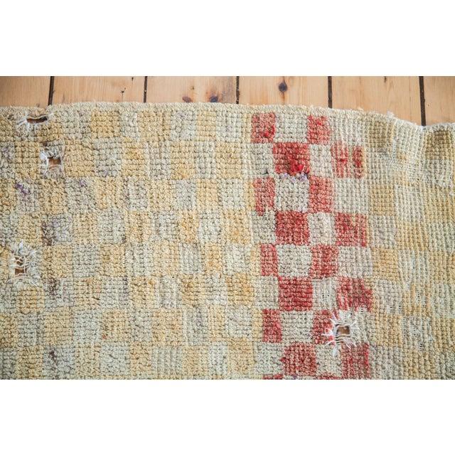 "Vintage Tulu Square Rug - 3'4"" x 3'9"" - Image 4 of 5"