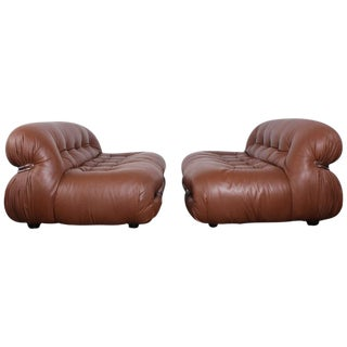 Pair of Soriana Sofas by Tobia and Afra Scarpa