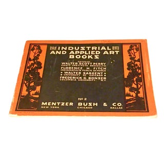 "1924 Mentzer Bush & Co. ""Industrial & Applied Art Books"" Book"