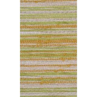 B. Berger Gold & Green Stripe Chenille - 10 Yards