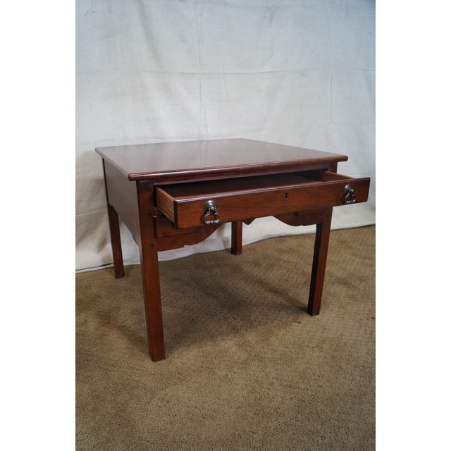 Lexington Bob Timberlake Solid Cherry Side Table - Image 8 of 10