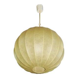 Italian Modern Parchment Bubble Chandelier