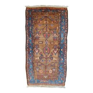 "Vintage Persian Hamadan Lilihan Rug - 2'10"" X 5'6"""