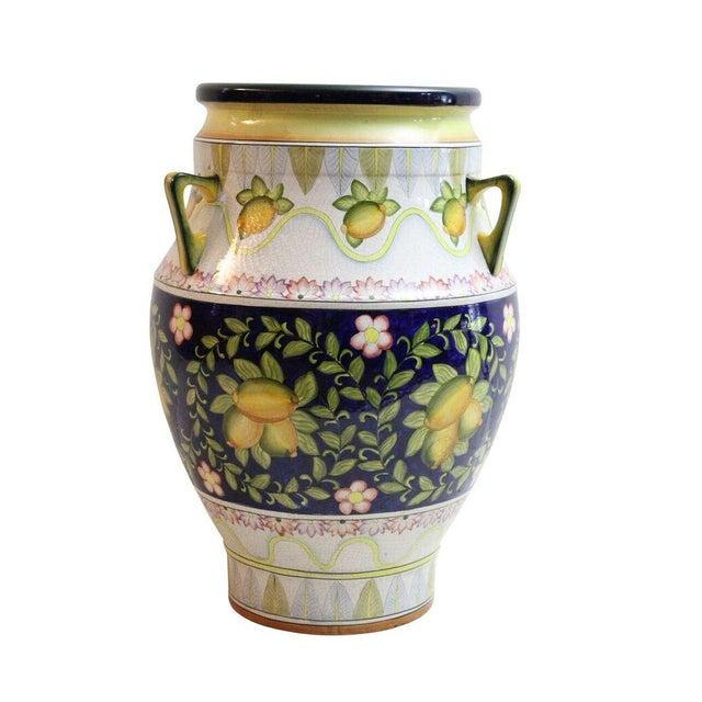 Italian Floor Vase - Image 1 of 3