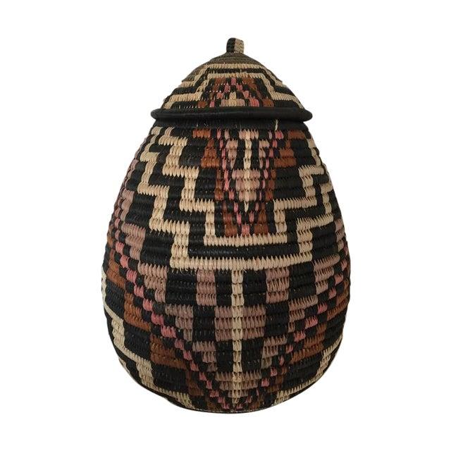 Image of Handmade African Basket