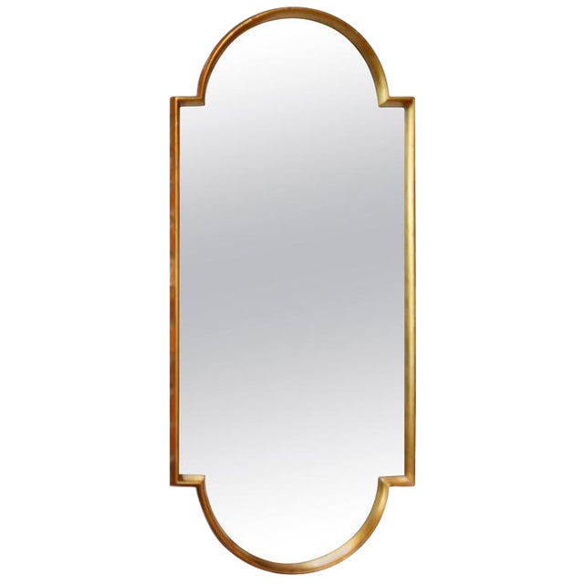 Image of Sculptural Labarge Giltwood Mirror