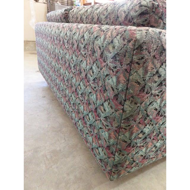 Mid-Century Milo Baughman Style Loveseat Sofa - Image 6 of 8