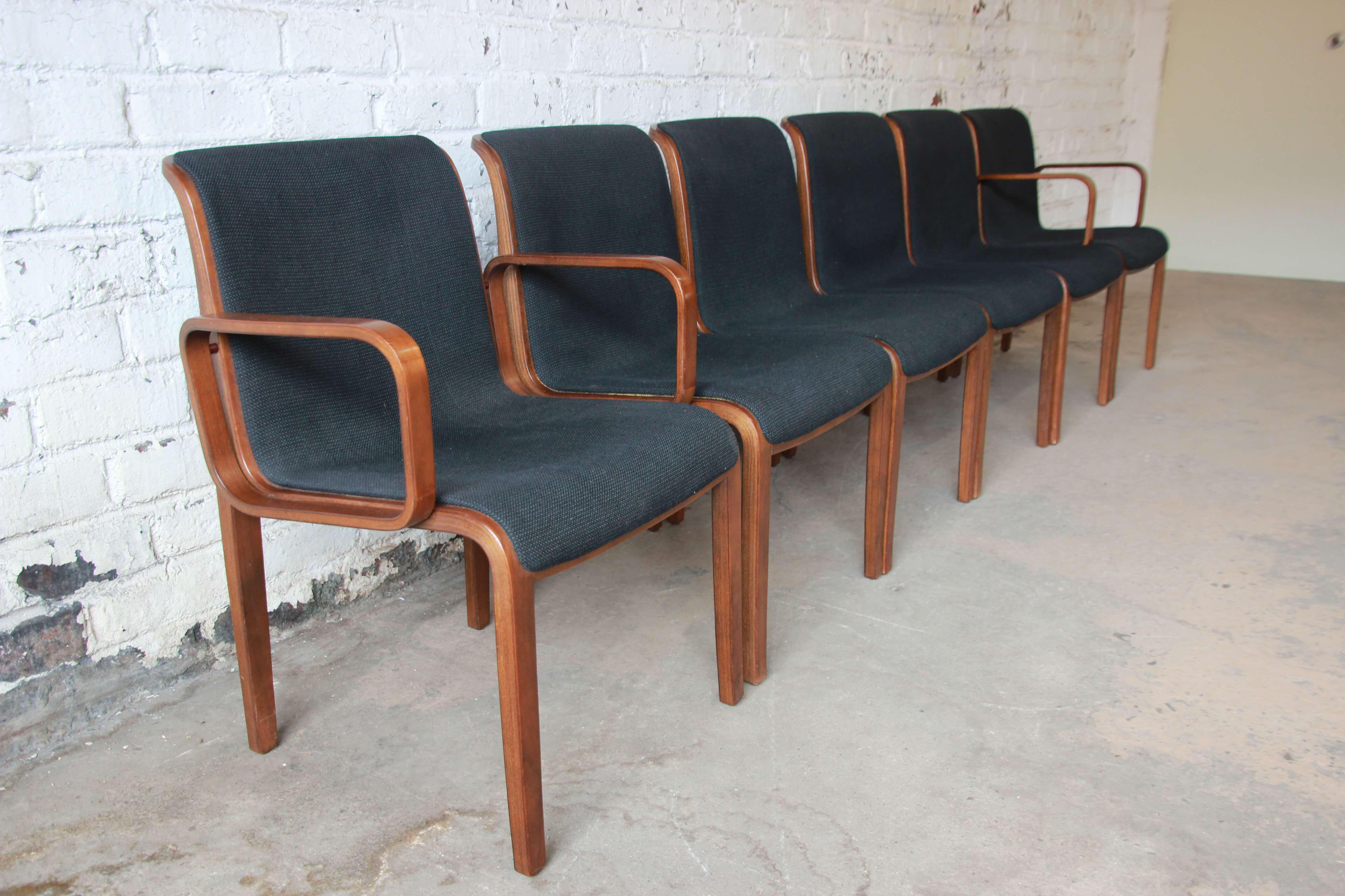 Bill Stephens For Knoll Dining Chairs   Set Of 6   Image 3 Of 11