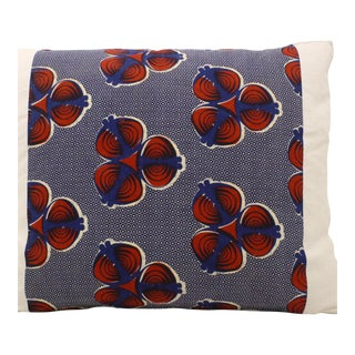 African Wax Print Pillows - A Pair