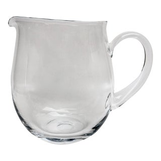 Blown Glass Cocktail Pitcher