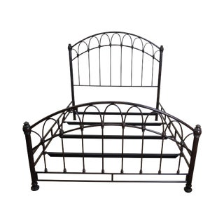Victorian Style Iron Queen Size Bed