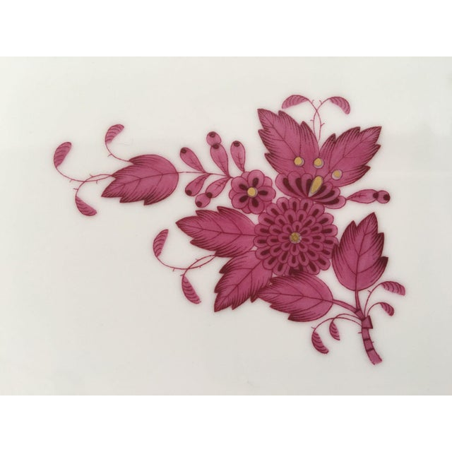 Herend Chinese Bouquet Raspberry Place Setting- 5 Pieces - Image 3 of 4