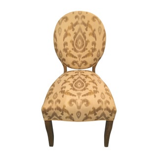 Oval Back Dining Chairs - A Pair