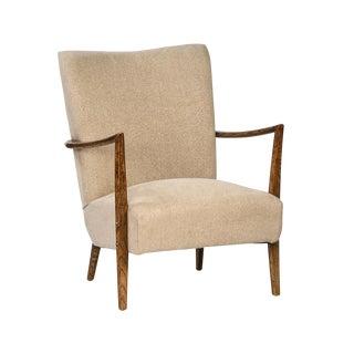 Mid-Century Dark Wood Chair
