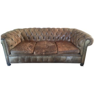 19th-Century Chesterfield Sofa