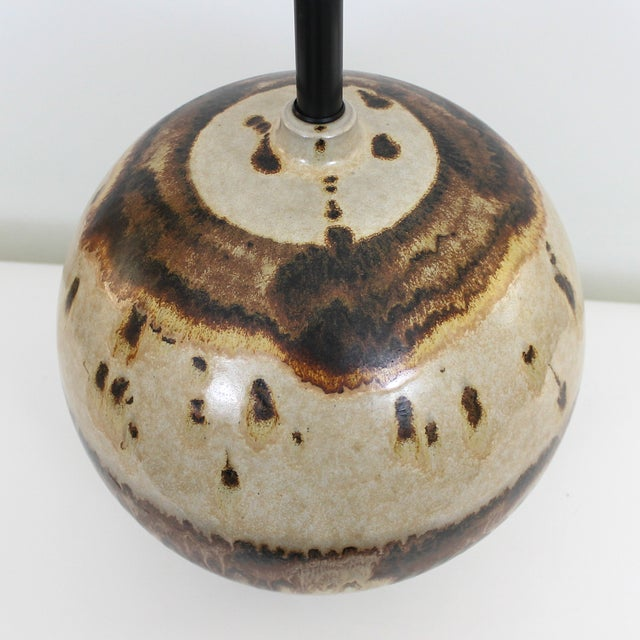 Overscale Mid-Century Raymor Pottery Lamp - Image 2 of 9