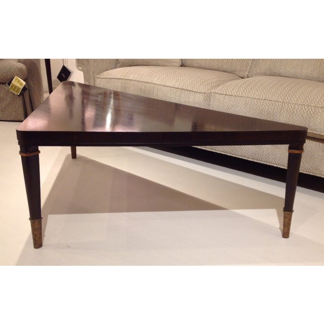 Triangular Cocktail Table By Hickory White Chairish