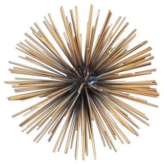 Modern Brass Sea Urchin Sphere