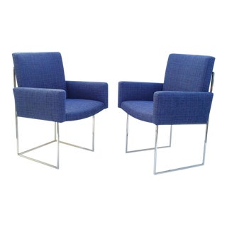 """""""Thin Line"""" Dining Chairs by Milo Baughman for Thayer Coggin - Set of 8"""