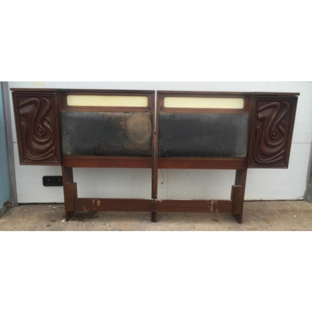 Witco Mid -Century King Size Headboard - Image 2 of 6