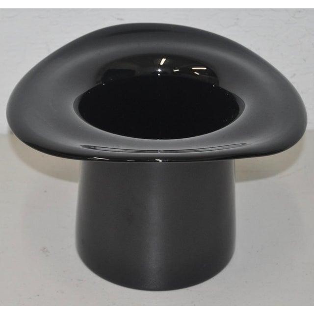 Murano Glass Top Hat - Image 4 of 5