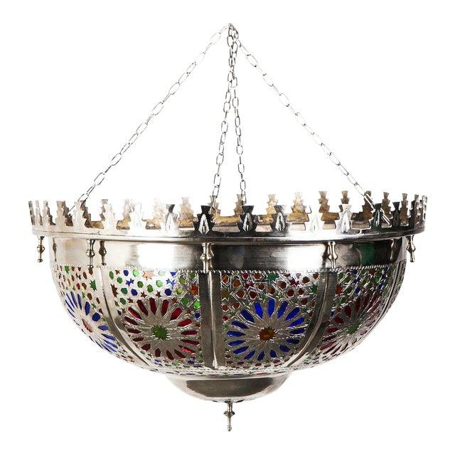 Boho Zehroun Metallic Lamp - Image 1 of 5