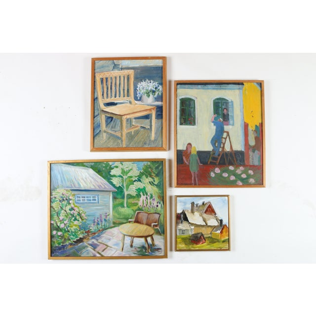 Gallery Wall Art Paintings - Set of 4 - Image 2 of 9