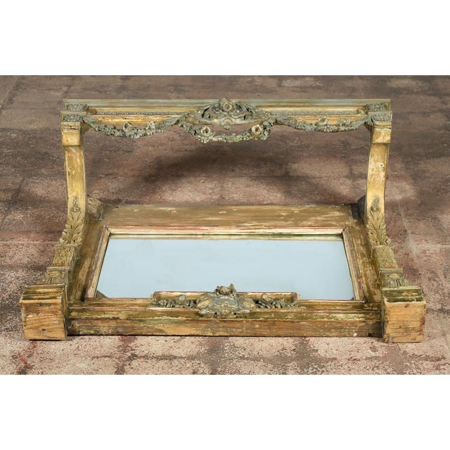 19th-Century French Marble Top Console - Image 9 of 10