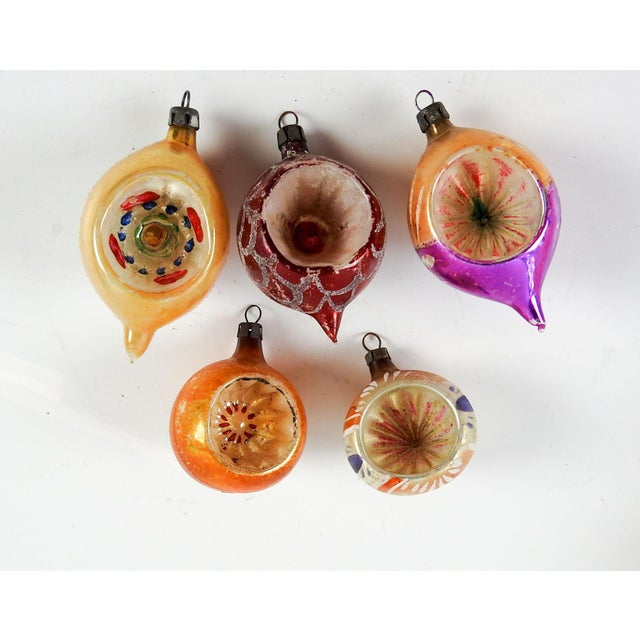 Group of Various Vintage Christmas Ornaments - Set of 5 - Image 3 of 3