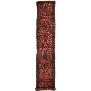 "Rugsindallas Antique Persian Lilihan Runner - 2'7"" - 14'9"""