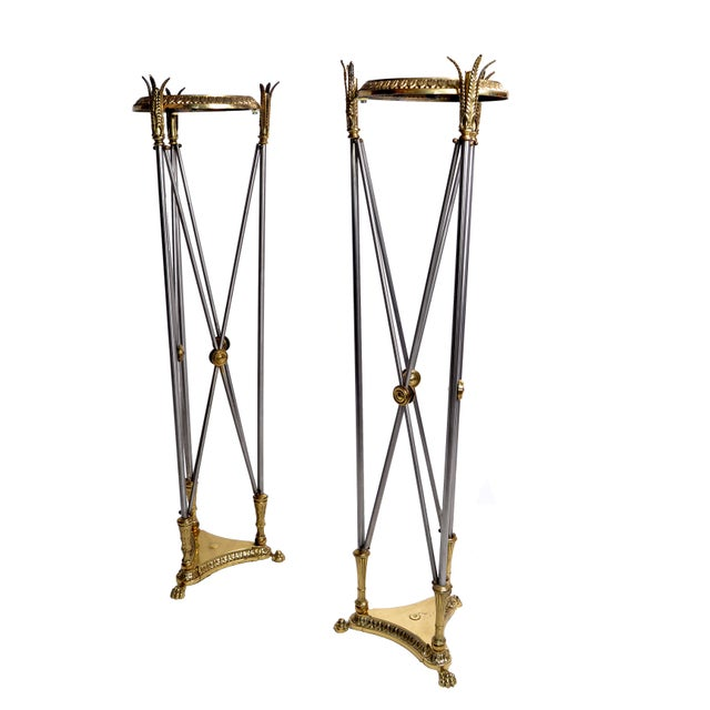Hollywood Regency Planter Stand - A Pair - Image 6 of 10
