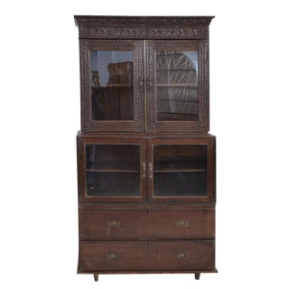 Antique Anglo Indian Display Cabinet