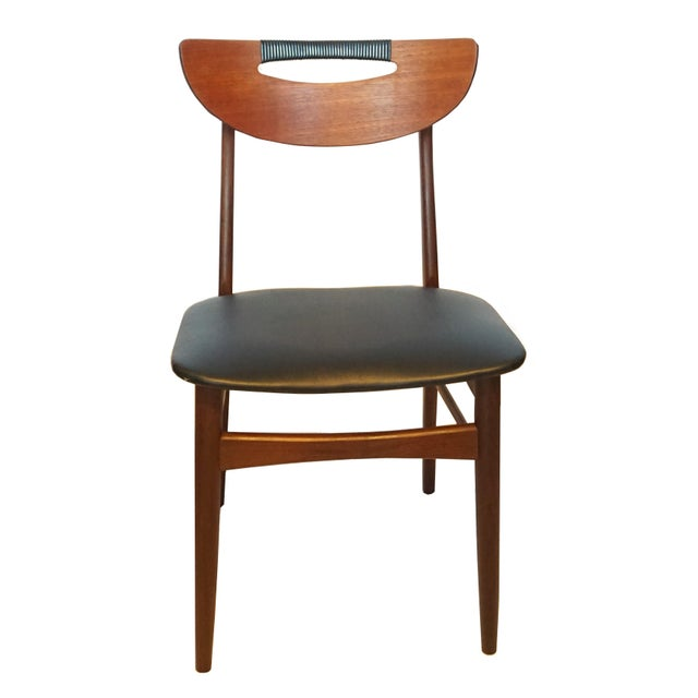 Mid-Century Modern Teak Dining Chairs - Set of 6 - Image 2 of 6