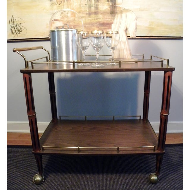 Mid Century Bar Cart or Tea Cart - Image 3 of 7