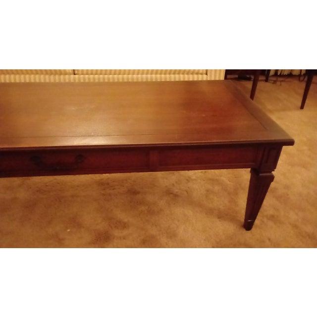 Mid Century Hollywood Regency Henredon Coffee Table Chairish