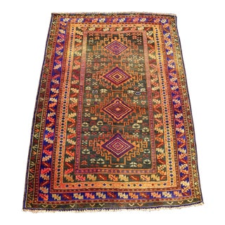 Antique Anatolian Rug- 2′10″ × 4′