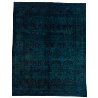 """Traditional Hand Knotted Area Rug - 8'1"""" X 10'3"""""""