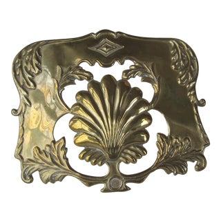 Decorative Brass Candle Shade