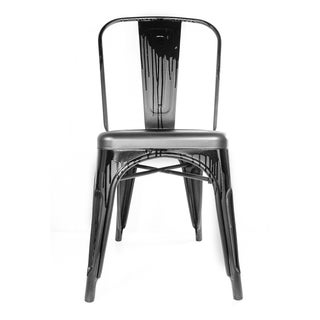 "Industrial Steel Stealth Chair by ""Meet Frankie C"""