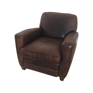 Restoration Hardware French Leather Club Chair