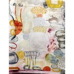 Image of 'Pandora's Garden No. 3' Abstract Painting