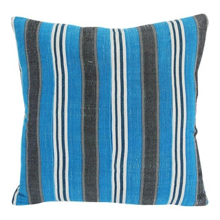 Vintage Striped Yoruba Nigerian Pillow
