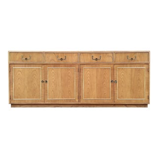 Thomasville Founders Credenza with Brass Hardware & Trim