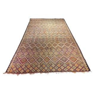 """Bellwether Rugs Vintage Moroccan Kilim Rug - 6' X 11'5"""""""