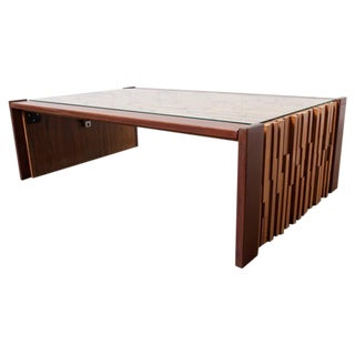 Percival Lafer Brazilian Mixed Wood Coffee Table